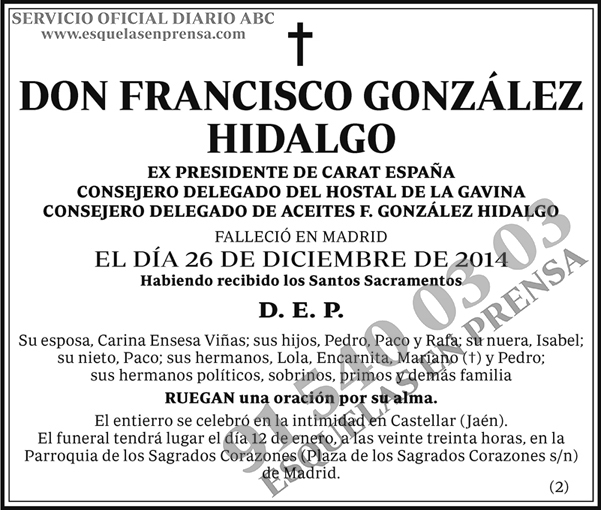 Francisco González Hidalgo